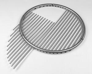 Edelstahl Grillrost 70 Cm Einzeln Entnehmbare Stäbe 8 Mm Dreibein Schwenkgrill Ebay