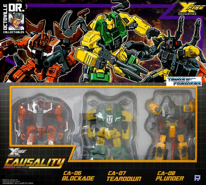 Transformers FansProject Exclusive Armored Battalion     Deluxe Insecticons New 68d1fa