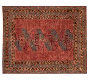 Image Is Loading Uk Rugs Arlo Design Handmade Tufted Persian Style