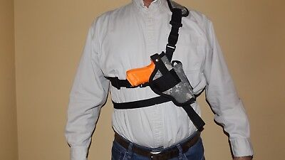 Shoulder CHEST Holster for GLOCK 34 Right Hand Draw Bandoleer 35 Made In USA