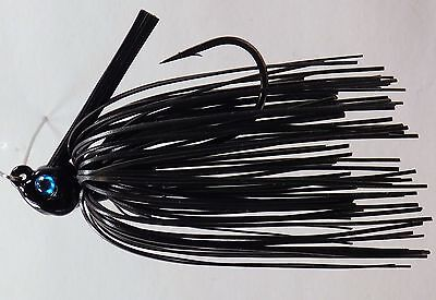Bob4Bass Swinging Football Jig Black HN15002