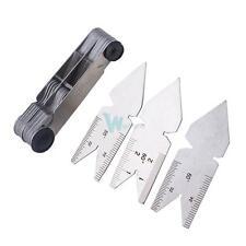 Screw Thread Pitch Cutting Gauge Tool Set Centre Gage 55° & 60° Inch & Metric #W