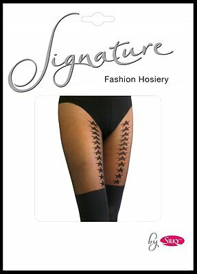 PRINTED TIGHTS  MOCK SUSPENDER TIGHTS   PATTERNED TIGHTS UNION JACK TIGHTS