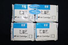 ORIGINAL HP 82/HP 10 set (C4844A,C4911A,C4912A,C4913A)- NEU - OVP