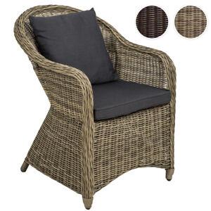 Aluminium chaise de jardin salon fauteuil siège en style osier ...