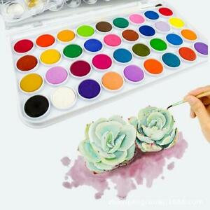 Watercolor-Cakes-Set-36-Colors-Painting-Material-Art-Artist-Paint-Designer-Tool