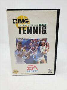 IMG International Tour Tennis (Sega Genesis) Complete CIB Authentic Tested