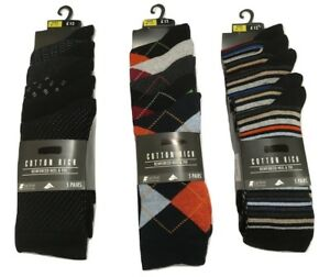 luxury aesthetic moderate cost fresh styles Details about Top Store Men's 5 Pairs Cotton Rich Socks Reinforced Heel &  Toe RRP £12 Next Day