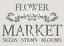 FLOWER MARKET a5 stencil Furniture Fabric Arts ❤ Vintage Shabby Chic 190 MYLAR