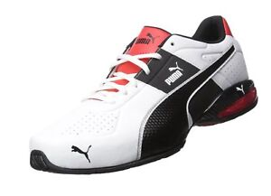 0188f956b935 PUMA Men s Cell Surin 2 FM Cross-Trainer Shoe Puma White Puma Black ...