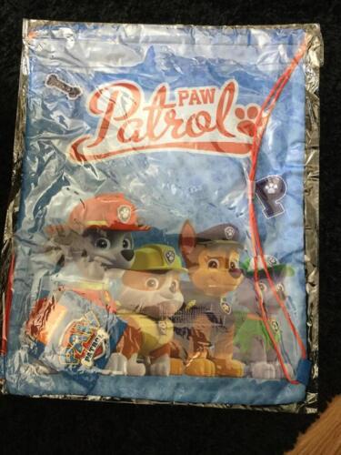 Drawstring Gym Bags Kids Paw Patrol,Cars /& Trolls