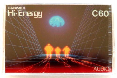 HANIMEX HI-ENERGY C60 NORMAL POSITION TYPE I BLANK AUDIO CASSETTE