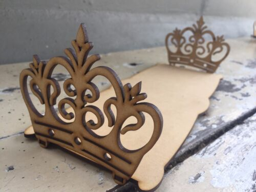 FILE CDR DXF EPS for Laser Cut or CNC ROUTER CROWN TRAY CORONA files archivos