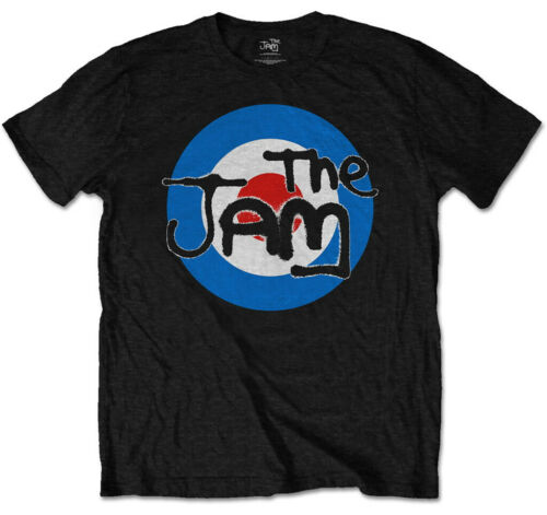 "Kids T-Shirt-Nuovo e Ufficiale! IMBALLATO NERO THE JAM /""SPRAY Target Logo/"""