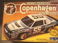 Benny Parsons Copenhagen Monte Carlo Factory Sealed Model Kit