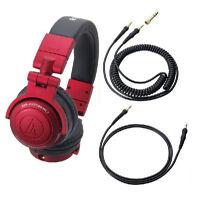 AUDIO-TECHNICA ATH-PRO500MK2 RD Professional DJ Monitor Headphone