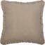SAWYER-MILL-Charcoal-Ticking-Stripe-Fabric-Euro-Sham-Ruffle-Farmhouse-VHC-Brands thumbnail 1