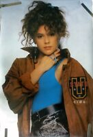 RARE ALYSSA MILANO 1988 VINTAGE ORIGINAL TV PIN UP POSTER