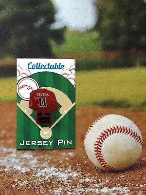Baseball & Softball Gastfreundlich Boston Red Sox Rafael Devers Trikot Revers Pin-2018 World Series Sammlerstück