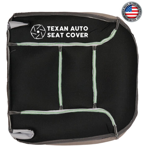 95 96 97 98 99 Chevy Tahoe LT 2-Door Sport Driver Bottom Leather Seat Cover Gray
