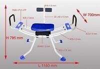 Ab Rocket Twist & Wave Exercise Machine, Sit, Swing & Twist While Watching Tv