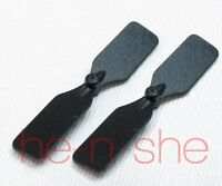 Dh803 Rc Helicopter Replacement Part - 2pcs Tail Blade Black Dh803-04