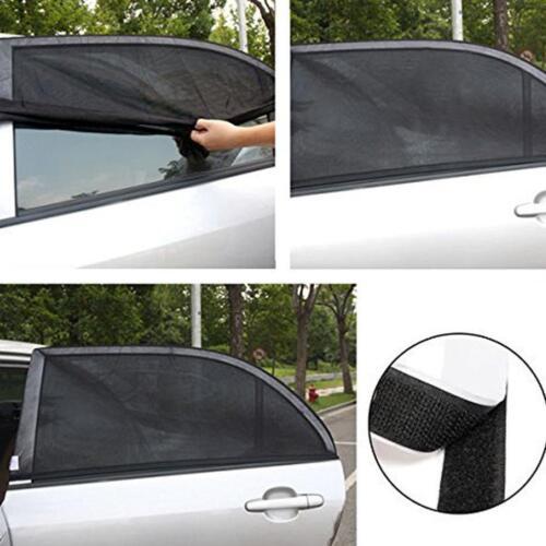Universal Mesh UV Protection Car Window Rear Door\Side Sun Shades Outdoor Travel