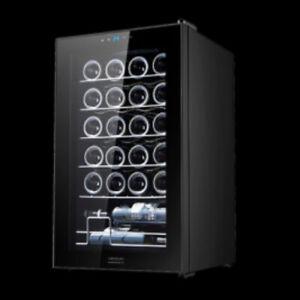 Vinoteca CECOTEC GrandSommelier 24000 Black Compressor / 24 BOTELLAS