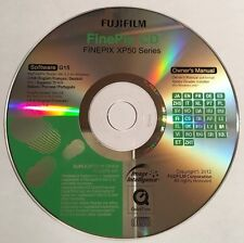 Fujifilm FinePix Digital Camera XP50 Series Software CD
