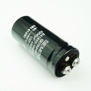 1x Vintage Siemens Elko  2200 uF 100V-  Kondensator / Capacitor