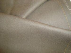 4-38-yds-Luxury-WOOL-Flannel-FABRIC-10-oz-SUITING-Mushroom-Gray-158-034-BTP
