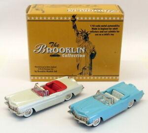Brooklin Models 1/43 Scale BRK57XX - 1956 Lincoln Continental Conv 2 Model Set