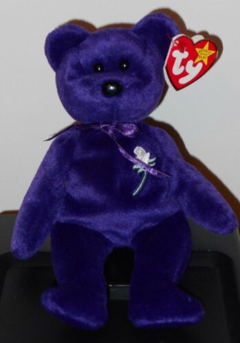 NMT* Ty Beanie Baby ~ PRINCESS the 1997 Bear ~ MWNMT Diana