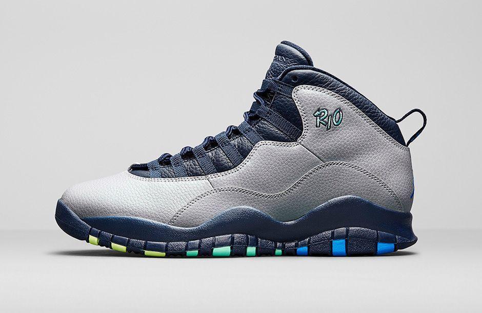 2018 Nike Air Jordan 10 X Retro Rio Size 9.5. 310805-019 2 3 4 5 6 Paris London