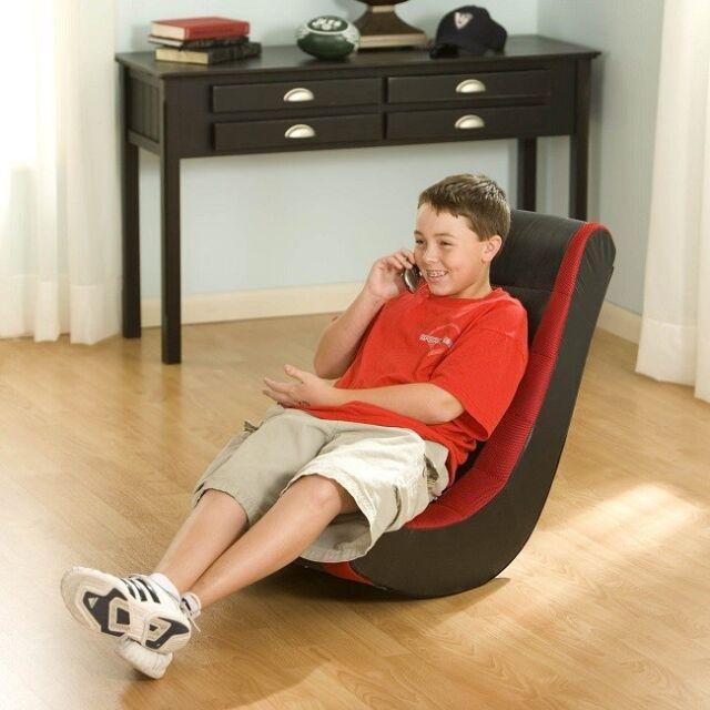 Incroyable Rocker Gaming Chair Video Game Seat Rocking Furniture Game Red Kids Adult  Teen