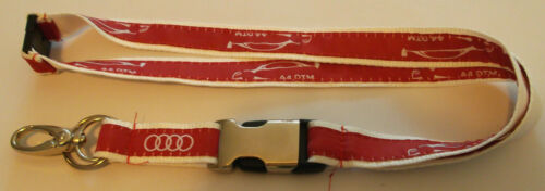 Audi A4 DTM Schlüsselband Lanyard NEU Z47//48