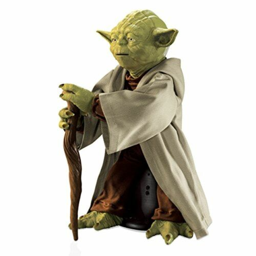 Star Wars légendaire Maître Jedi Yoda Interactive Talking Action Figure-NEUF