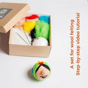 needle felting starter kit diy kit Needle felting kit Brawl stars Spike