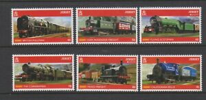 Jersey - 2015, Europa, Traditional Toys, Hornby set - MNH - SG 1925/30