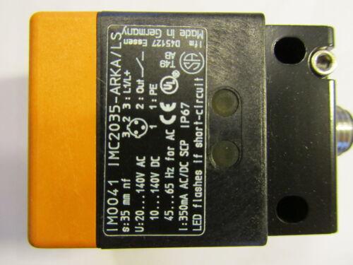 004 efector 100 im0041 inductiva sensor imc2035-arka//ls-100ak IFM
