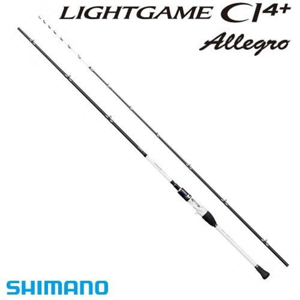 Caña Shimano juego de luz CI4 Plus Allegro Barco Tipo 82 H170 1.7m de Japón