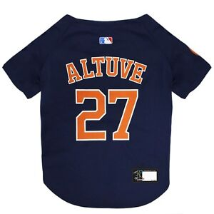 JOSE-ALTUVE-27-Houston-Astros-MLBPA-Officially-Licensed-Dog-Jersey-Navy