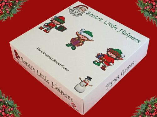 Santa`s Little Helpers The Christmas Family Board Game New Pisces Games