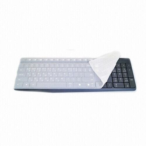 Premium Silicone Keyboard Skin Covers guard For Logitech MK235 Freeship