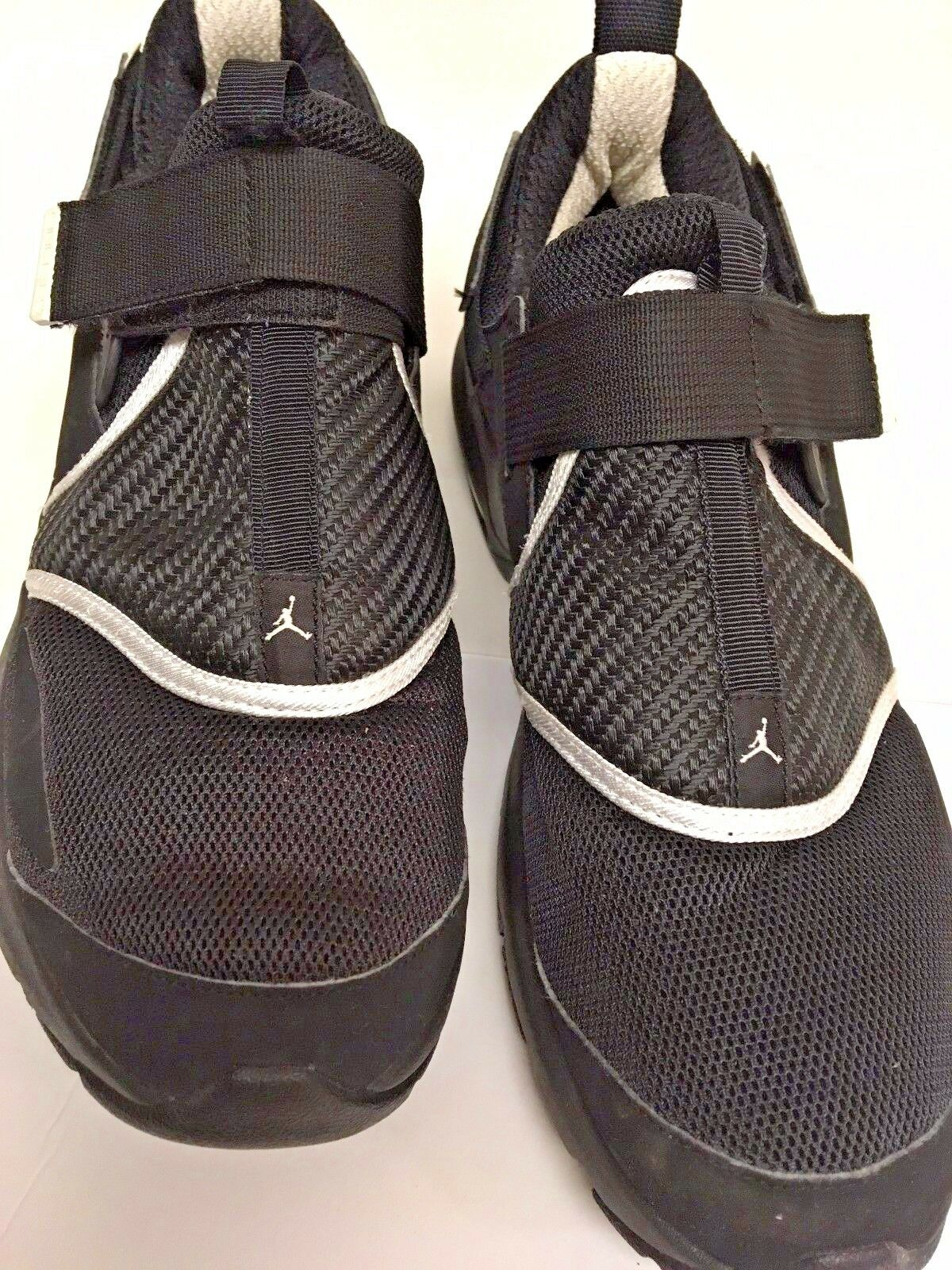Nike air trunner jordan trunner air lx 2011 nero argento scarpe da ginnastica jordan sz 10,5 m a84163