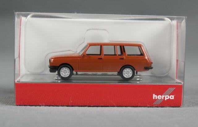 1//87 Herpa Wartburg 353 Tourist kupferbraun 420402