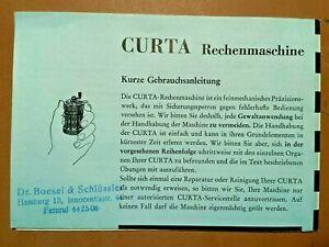 Seltene-Original-Gebrauchsanleitung-CURTA-Rechenmaschine-grosses-Faltblatt