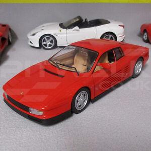 FERRARI-TESTAROSSA-F110-Rosso-1-24-scala-pressofuso-modello-di-auto-sportiva