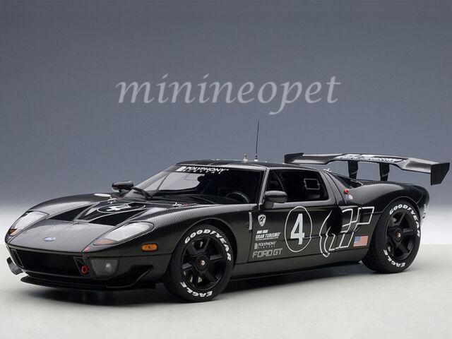 Autoart  Ford Gt Lm Race Car Spec Ii Test Car