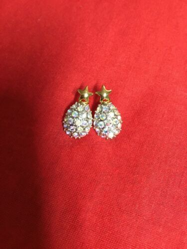 Vintage Joan Rivers Gold Tone Earrings